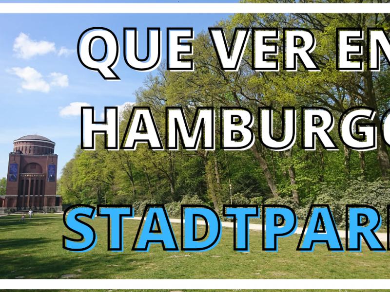 Las zonas verdes de Hamburgo. El Stadtpark