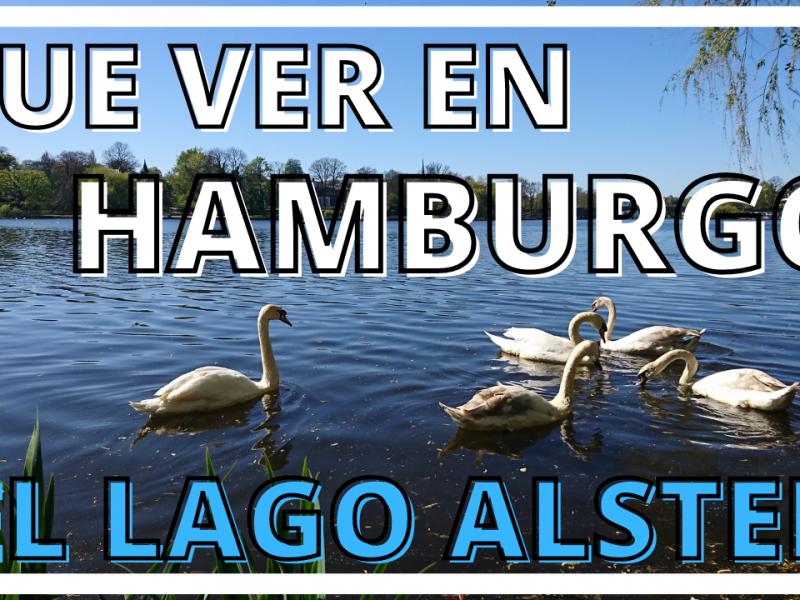 Las zonas verdes de Hamburgo. El lago Alster