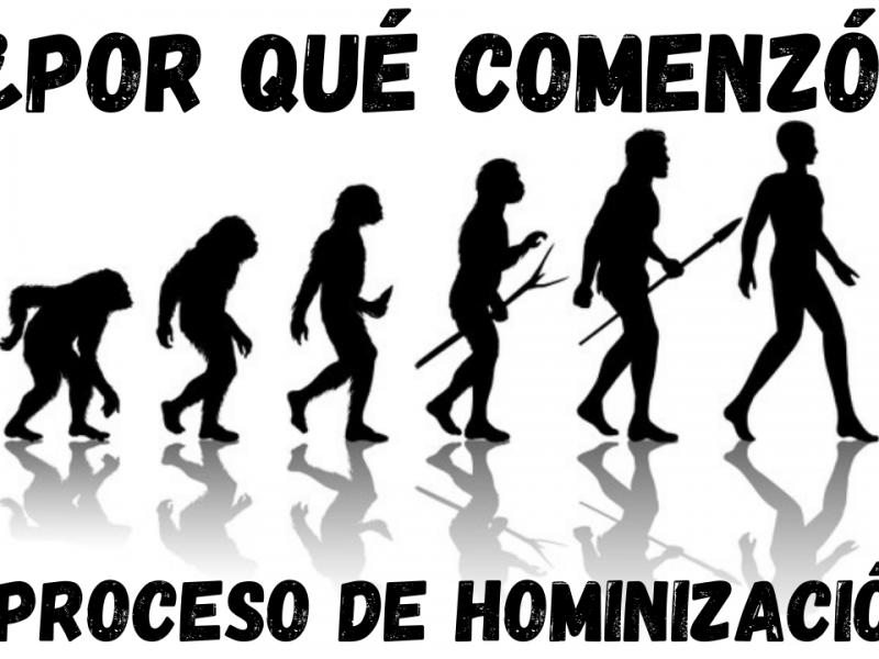 Cómo comenzó el proceso de hominización