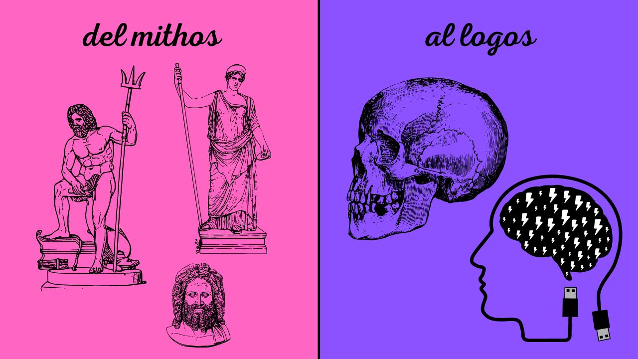 El surgimiento del pensamiento racional en Grecia